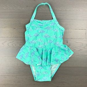 Old Navy 4T Umbrella Halter Bathing Suit Swim